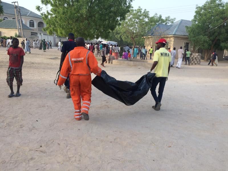 Suicide bombing boko haram maiduguri