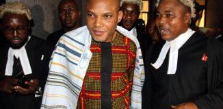 Nigeria Pro Biafra agitators, Nnamdi Kanu Biafra IPOB Nigeria