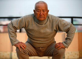 Nepali mountain climber Min Bahadur Sherchan, 85, died attempting to climb Mount Everest to break record | Reuters/Navesh Chitrakar
