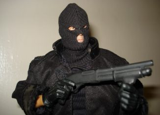 Armed Robber Rapes Wife