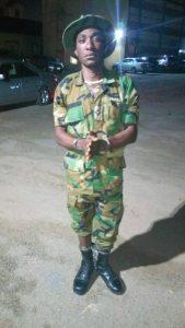 soldier evans