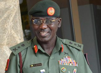 Boko Haram The Chief of Army Staff, Lieutenant General Tukur Yusuf Buratai