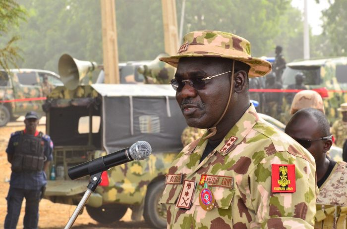 Abubakar Shekau Intersociety The Chief of Army Staff, Lieutenant General Tukur Yusuf Buratai