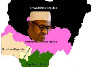 tafewa balewa Nigeria flag map biafra arewa middle belt
