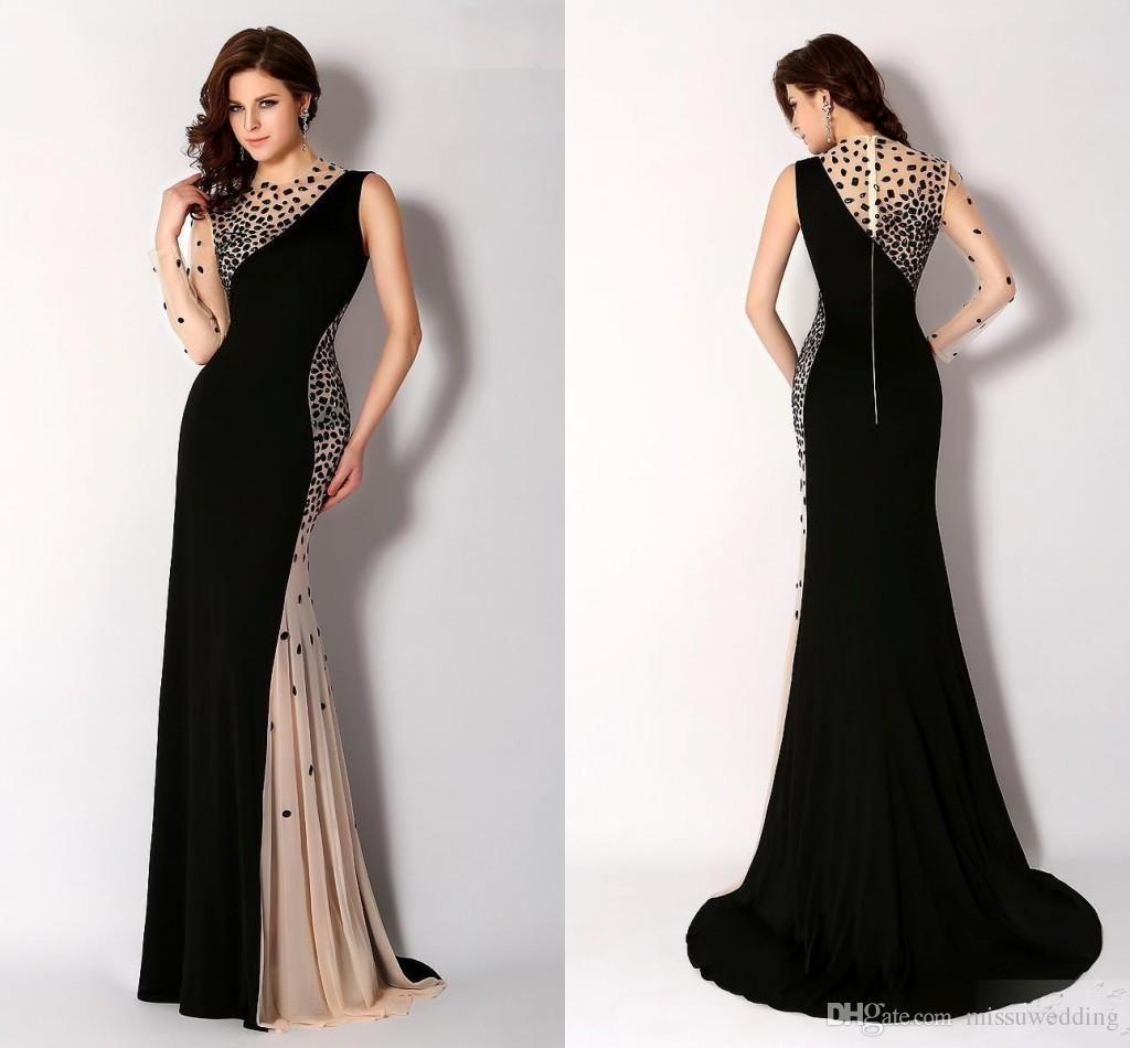 evening gown Elegant-Evening-Dresses-With-Sleeves-1466260191-2016 ...